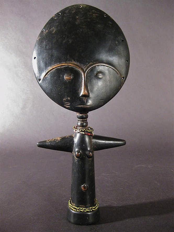 An Ashanti Doll, c. 1950-60. Ghana