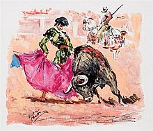 José López Canito. Bullfighting