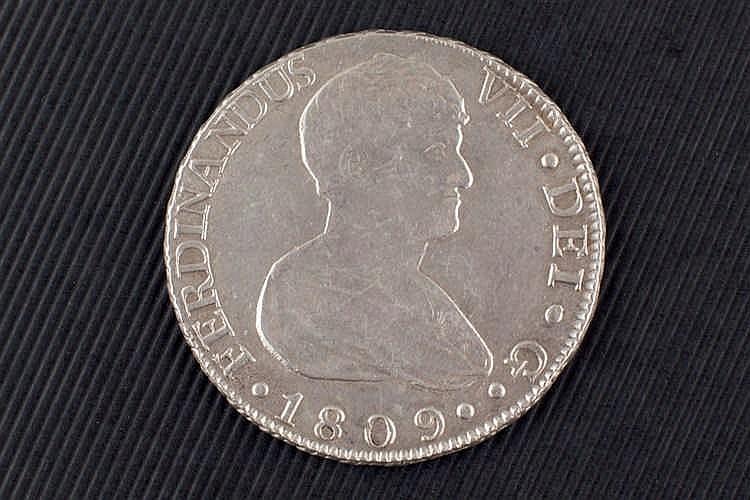 8 reales. Fernando VII. 1809. Sevilla