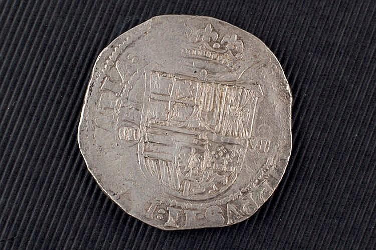 8 reales. Felipe II. Sin fecha. Toledo. M