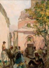 Francisco Hohenleiter. Pottery seller