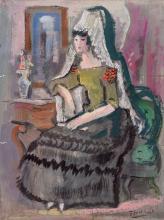 Pedro Flores. Maja (1940)
