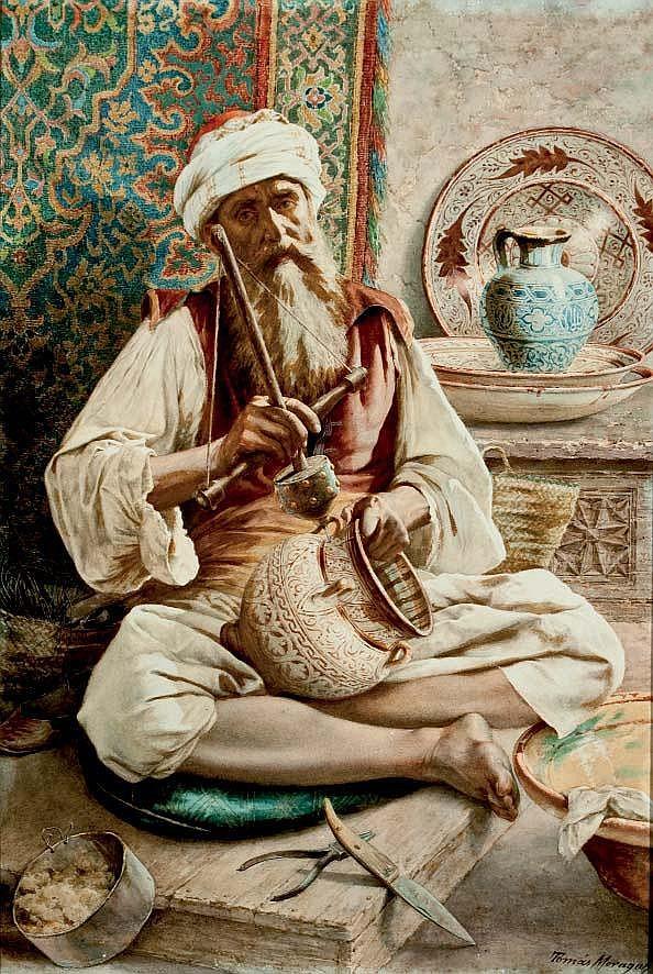 TOMAS MORAGAS (Gerona, 1837 - Barcelona, 1906)