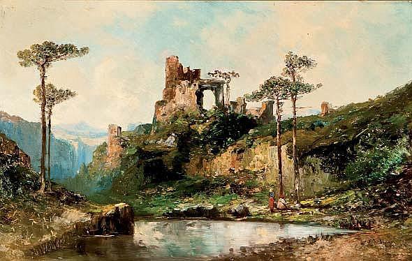 CARLOS DE HAES (Bruselas, 25 enero, 1829 - Madrid,