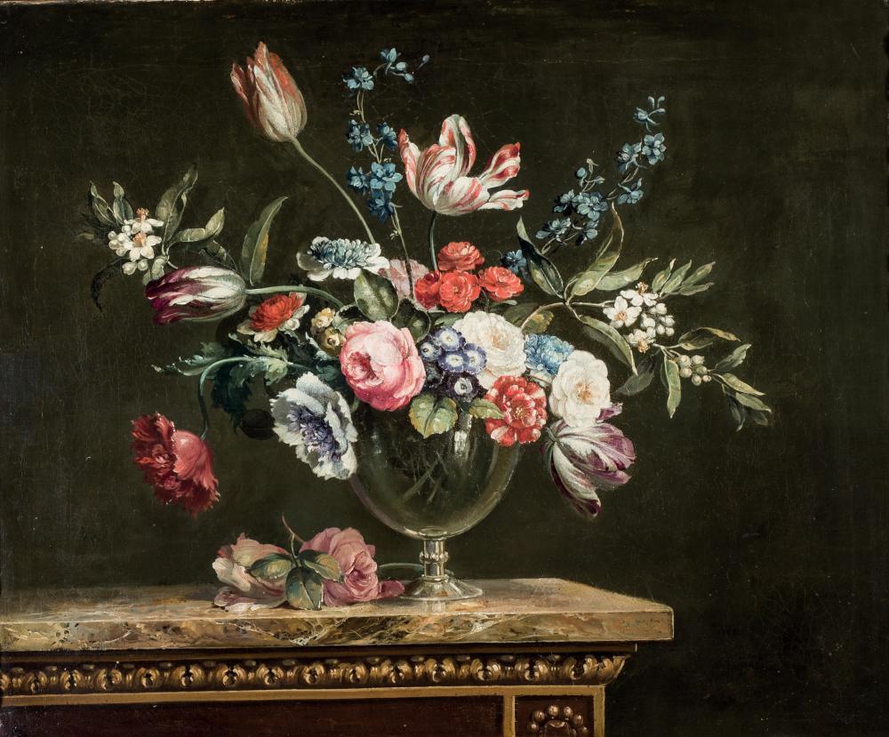 Atelier of Jean Baptiste Monnoyer. Flowers