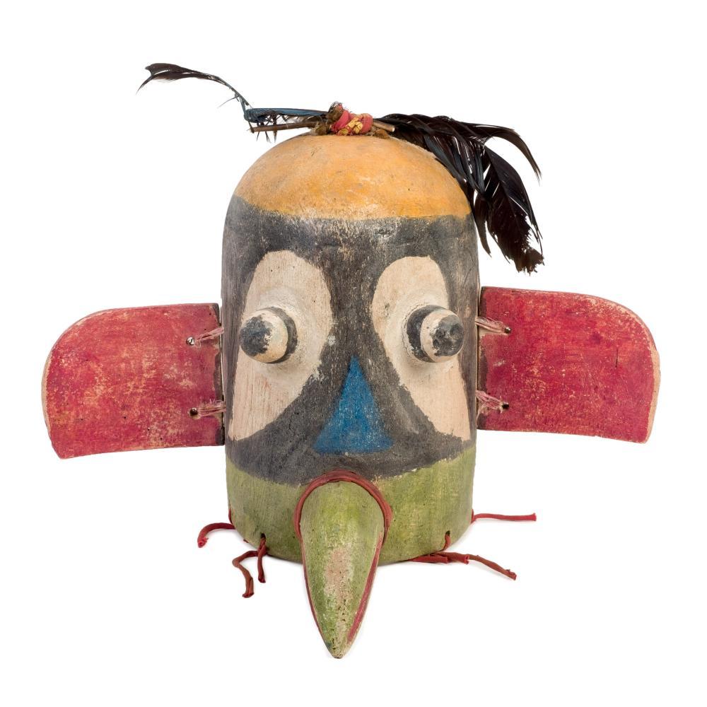 Hopi People mask . Circa 1960