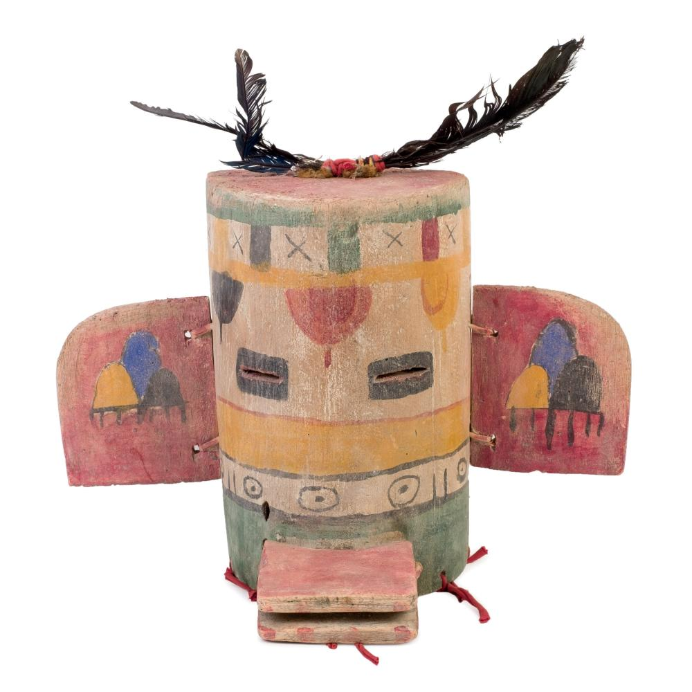 Hopi People mask. Circa 1960