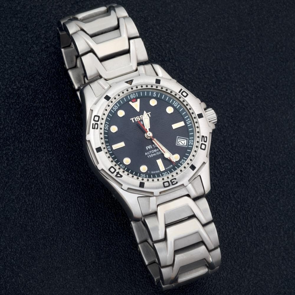 Tissot automatic gents steel watch