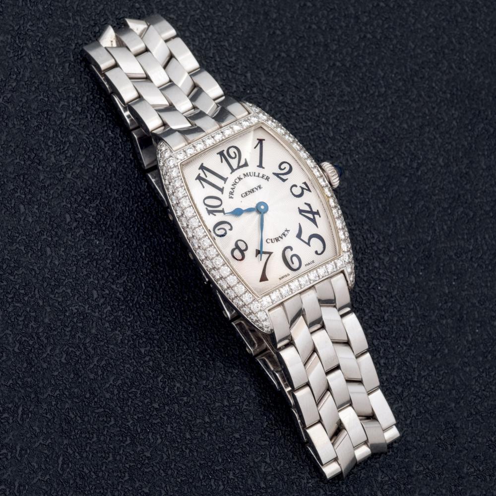 Franck Muller Cintree Curvex diamond lady