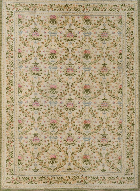 A Spanish wool carpet. 20th Century