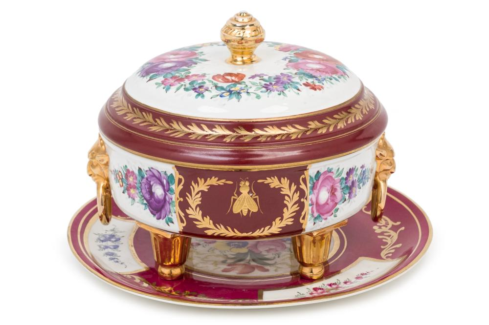 A French porcelaine tureen. 20th Century
