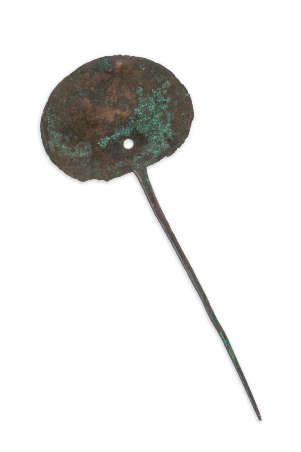 A Roman bronze hair pin. 2th/3th AC