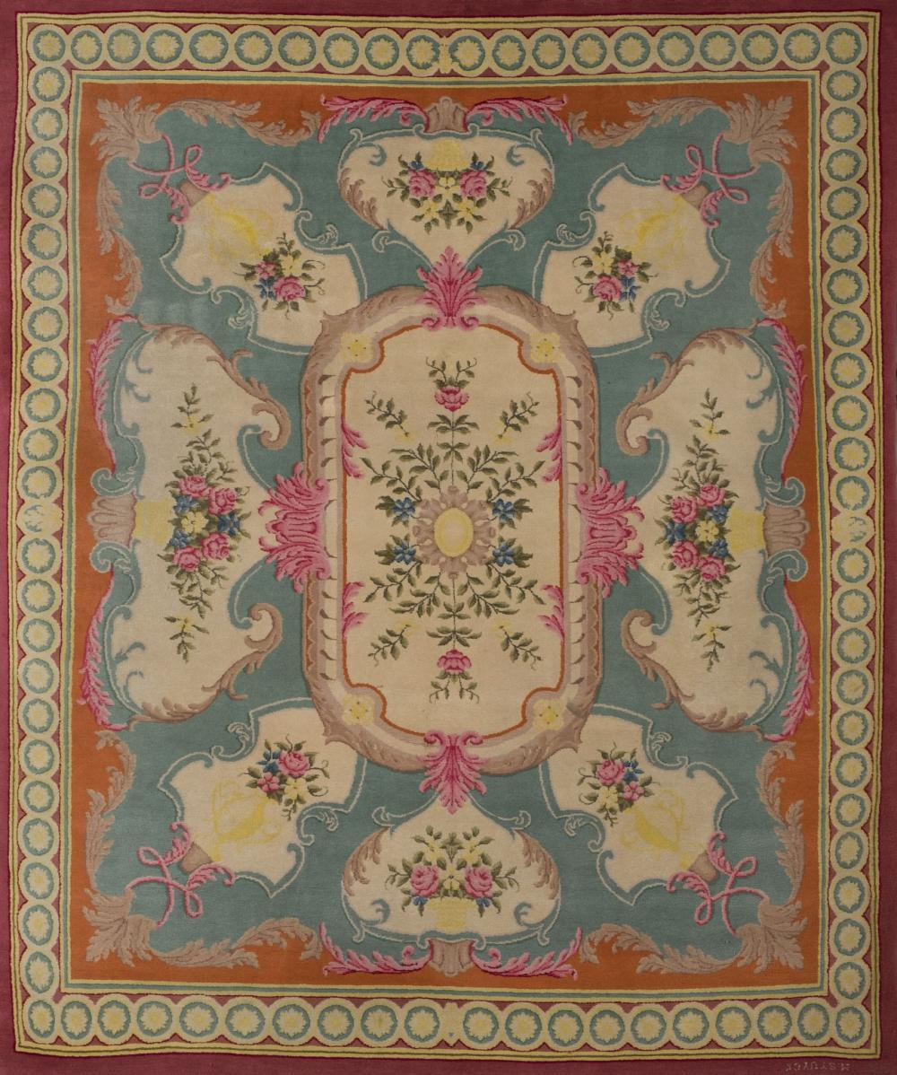 Aûbusson carpet M. Stuyck. 20th C