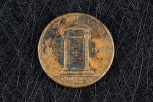 Medalla Vaticano Clemente X 1675 Puerta Santa
