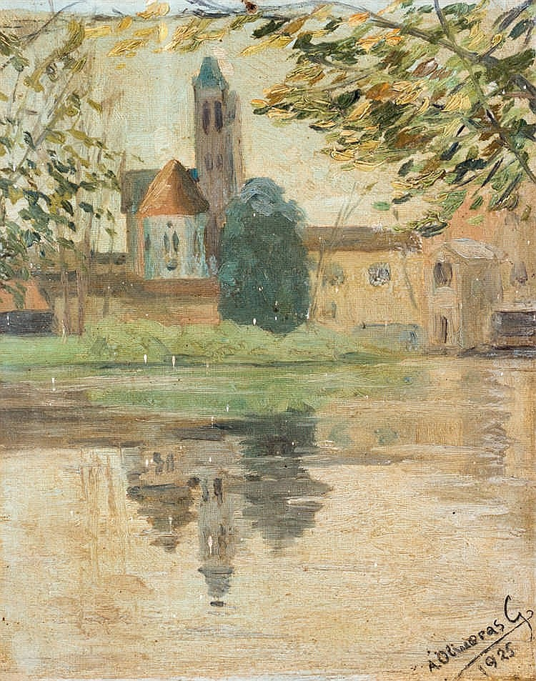 Ángel Oliveras Guart. View from the river
