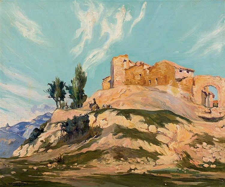 Antonio Galiano. Ruins