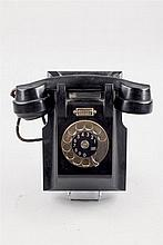 Ericsson baquelite phone. Around 1950