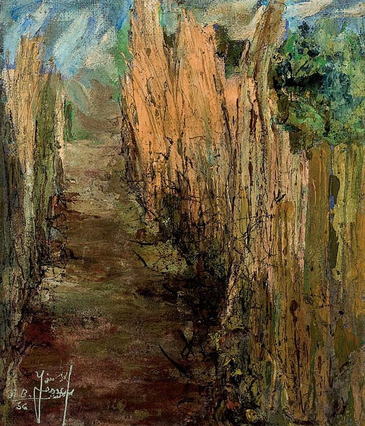 Ahmed Ben Yessef. Camino de las cañas