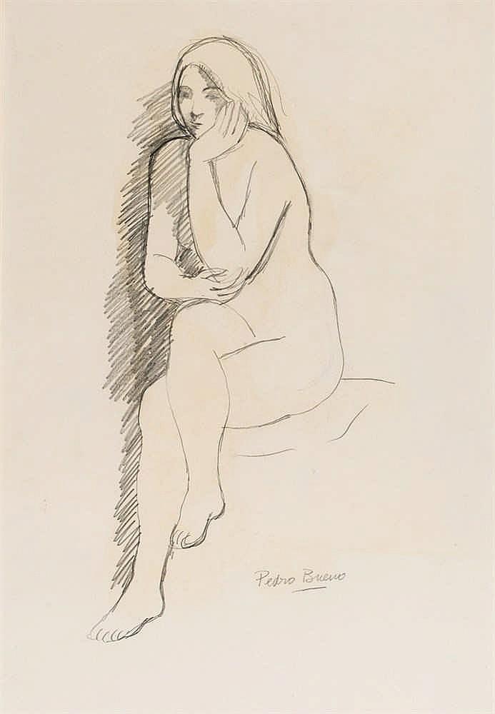 Pedro Bueno. Nude feminine