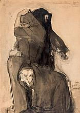 Daniel Vázquez Díaz. Mothers suffering. War 1914