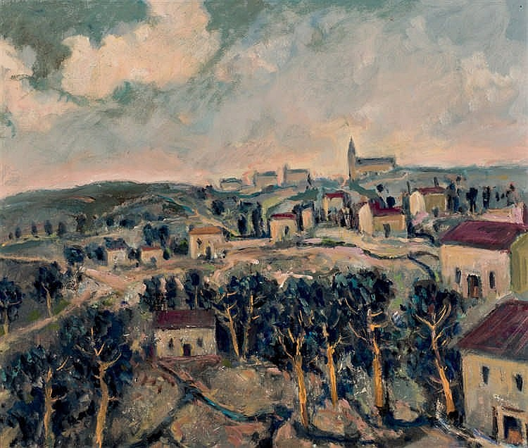 Julio Pérez Torres. View from the cigarral