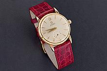 Omega gold automatic watch
