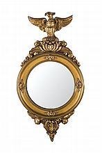A Regency style wall mirror