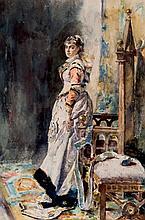 Alejandro Ferrant. Palatian woman