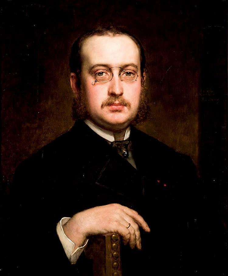 Federico de Madrazo. Portrait