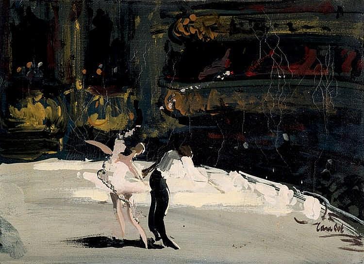 Monique Lancelot. Dancers
