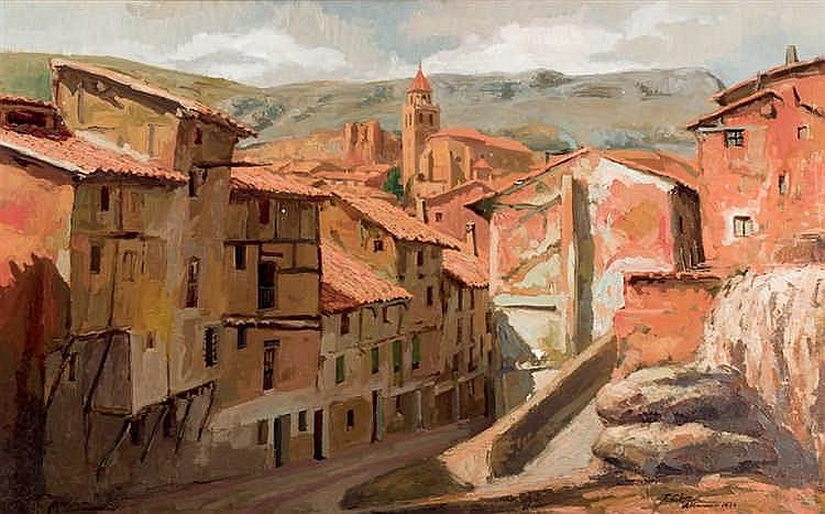 Fermín Alegre. Albarracín