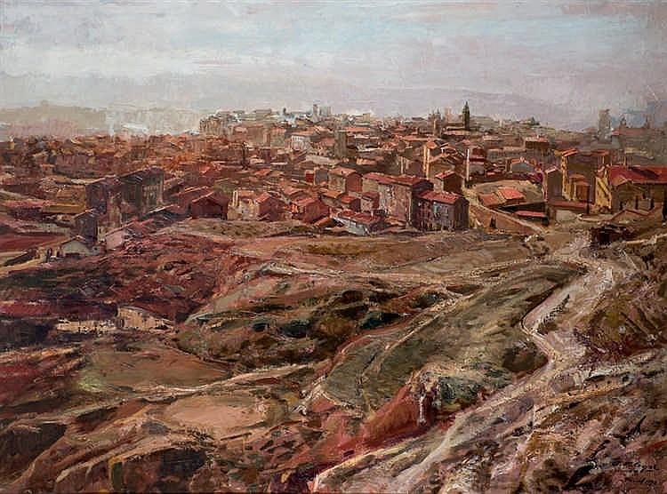 Fermín Alegre. Teruel view
