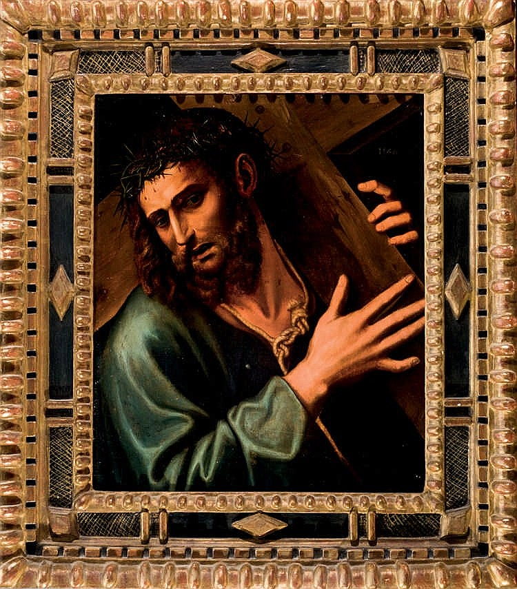 Attributed to Sebastiano Piombo. Christ