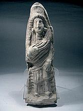Roman clay figure. Circa 200 A. D.