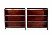A pair of bookcase