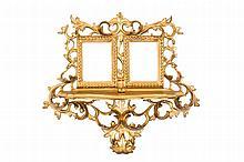 A wooden gilt frame
