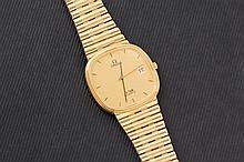 Omega De Ville mens gold watch