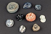9 Roman Amulets, 1st-2nd C. A. D.