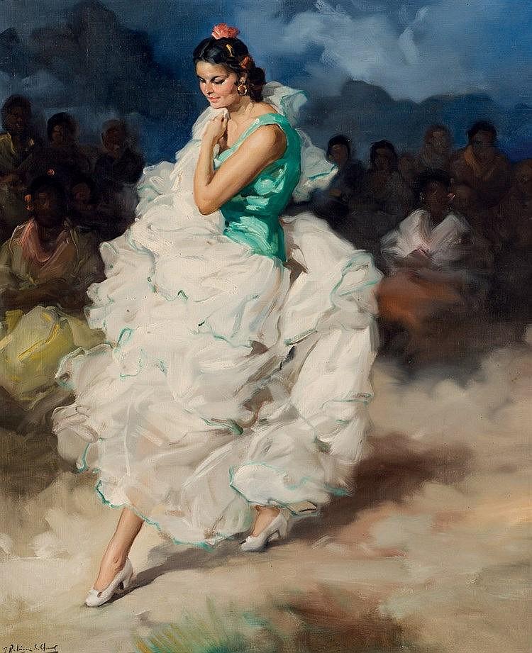 Francisco Rodriguez Sanclement. Dancer