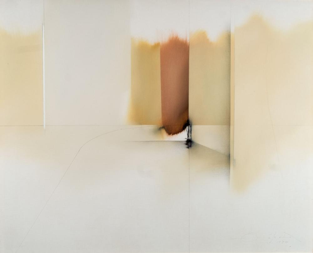 Fernando Zóbel. La calle estrecha II (1970)