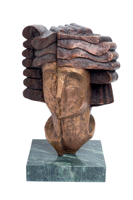Saad Ben Cheffaj. Athena's head