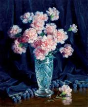 Francisco Domingo i Segura. Pair of flower vases
