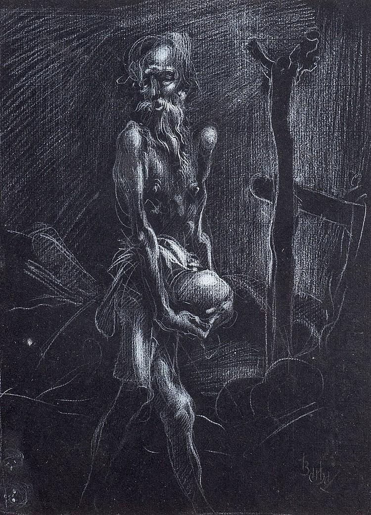 Juan Barba. Saint Jerome