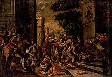 Spanish School, 17th C. The Massacre