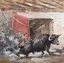 Ángel González Marcos. Bullfighting