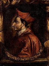 Spanish School, 17-18th C. Cardinal