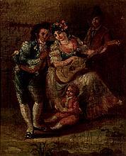 Spanish School, 19th C. Dancing