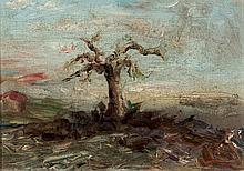 Spanish School, 19th-20th C. Tree
