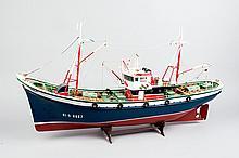 A Mockup of a Basque Fishing Boat