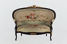 French Napoleon III Settee. 19 th.C
